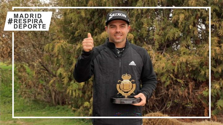 Alex del Rey, campeón del torneo inaugural del Circuito de Profesionales de Madrid