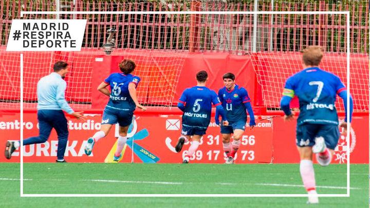 CD Mostoles,primer equipo que jugará el play-off de ascenso a Segunda B