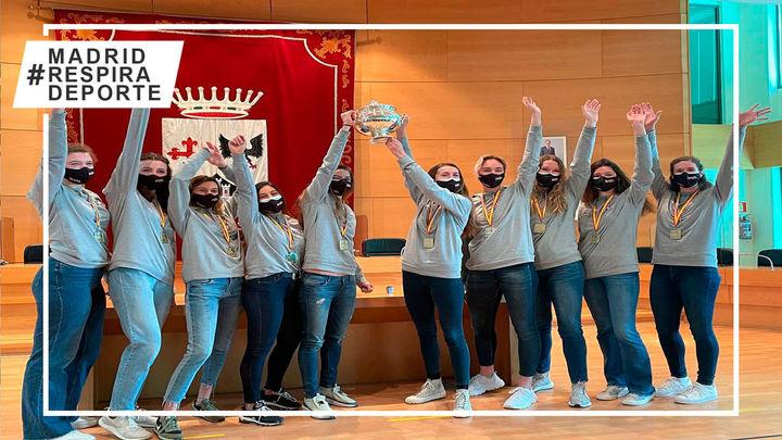 Voleibol Alcobendas luce la Copa de la Reina ante los alcobendenses