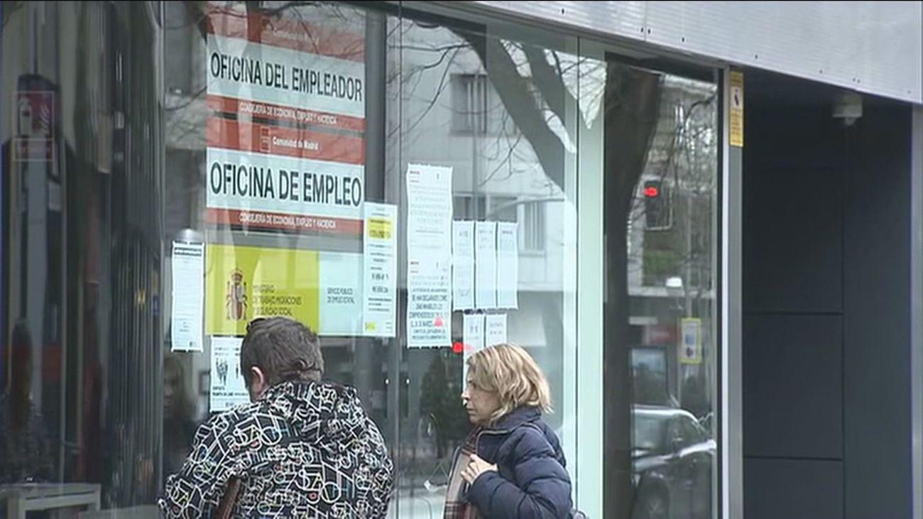 El desempleo crece un 1,69 % en Madrid en febrero, hasta los 447.101 parados