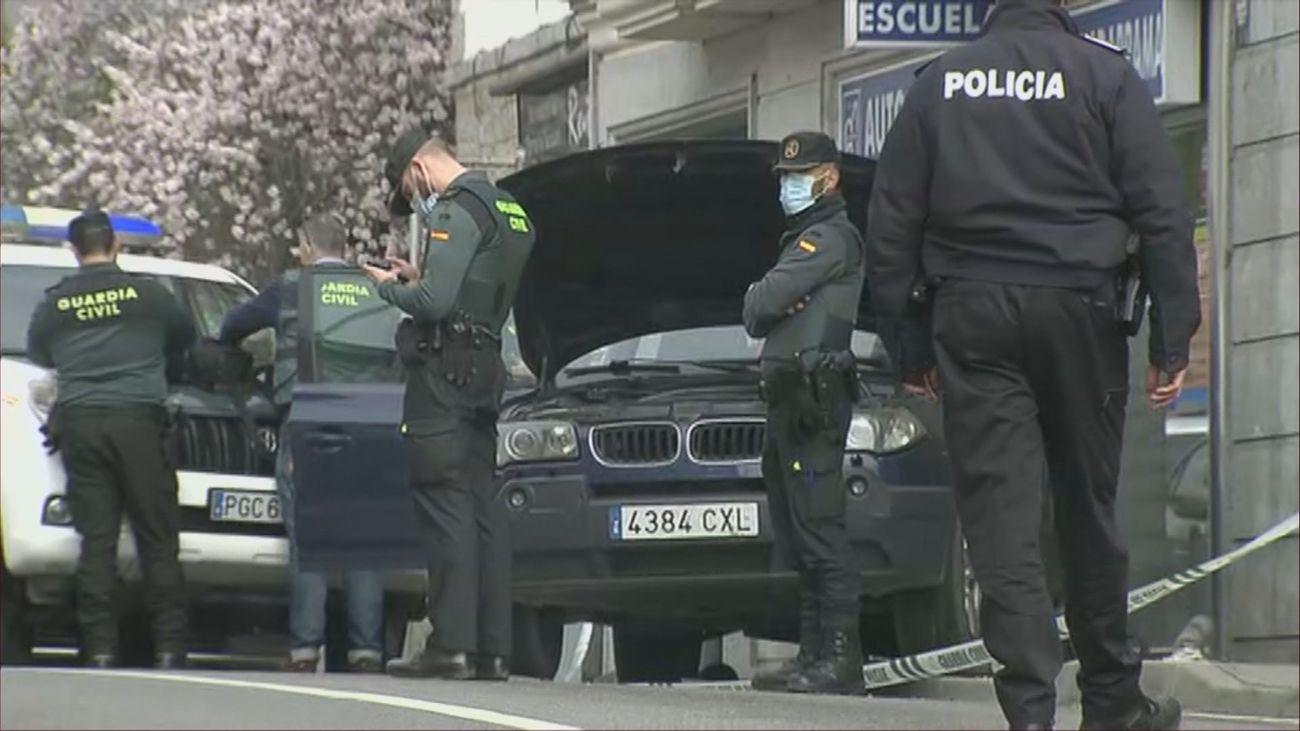 Robo, disparos y persecución en Colmenarejo con dos guardias civiles heridos y un detenido