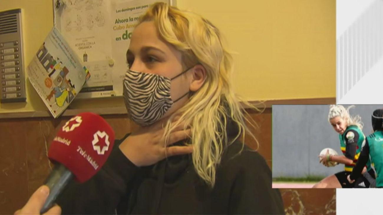 """Laura Alonso, la jugadora de rugby que redujo a su agresor: """"Me agarró por el cuello, pero me solté y fui a por él"""""""