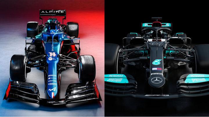 Alpine y Mercedes presentan los monoplazas de Alonso y Hamilton