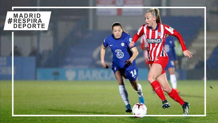 2-0. El Atleti femenino falla dos penaltis y cae ante un Chelsea con diez