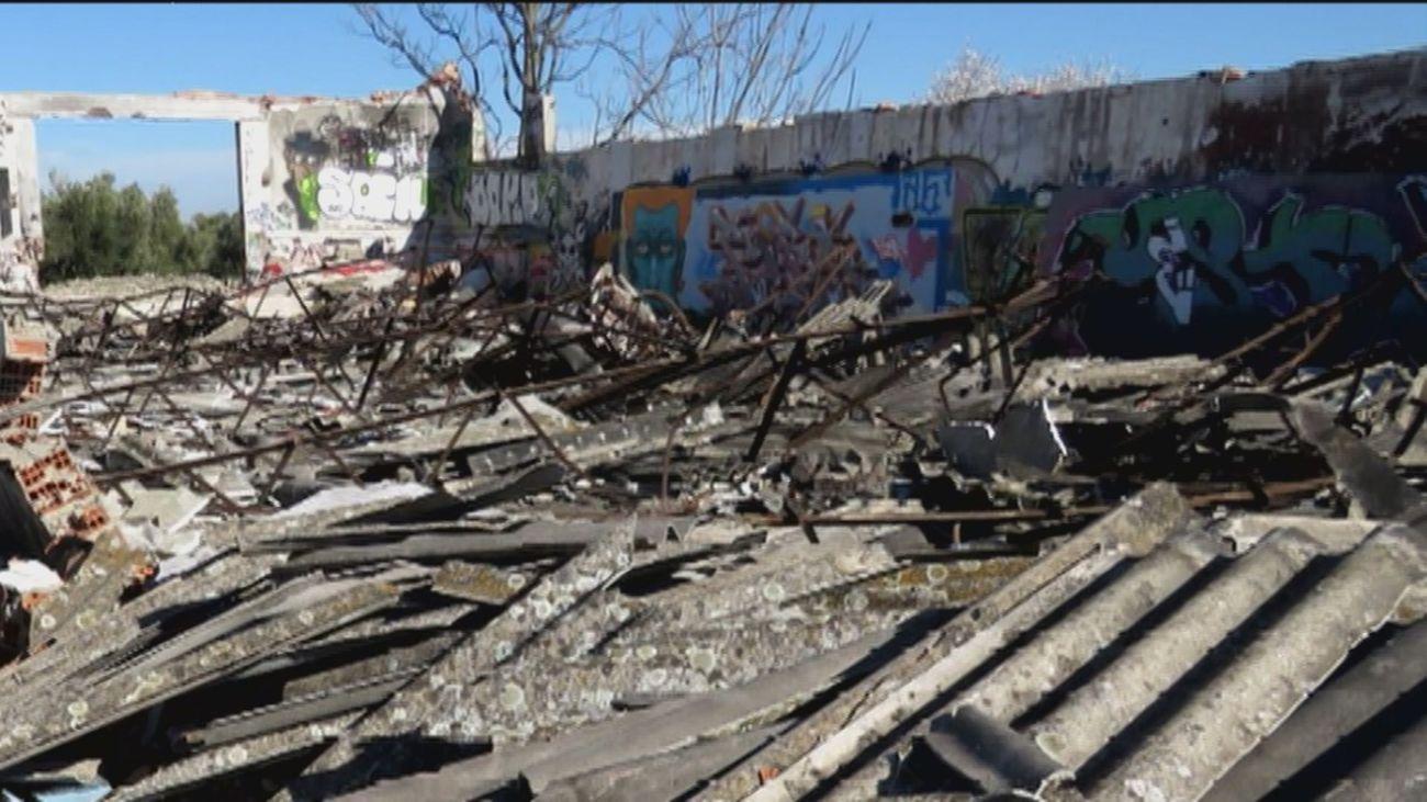 Ecologistas denuncian el abandono de residuos de amianto en Valdemoro y piden vallar la zona
