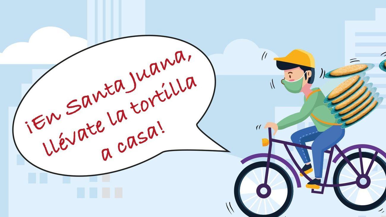 Fuenlabrada invita a celebrar Santa Juana en casa