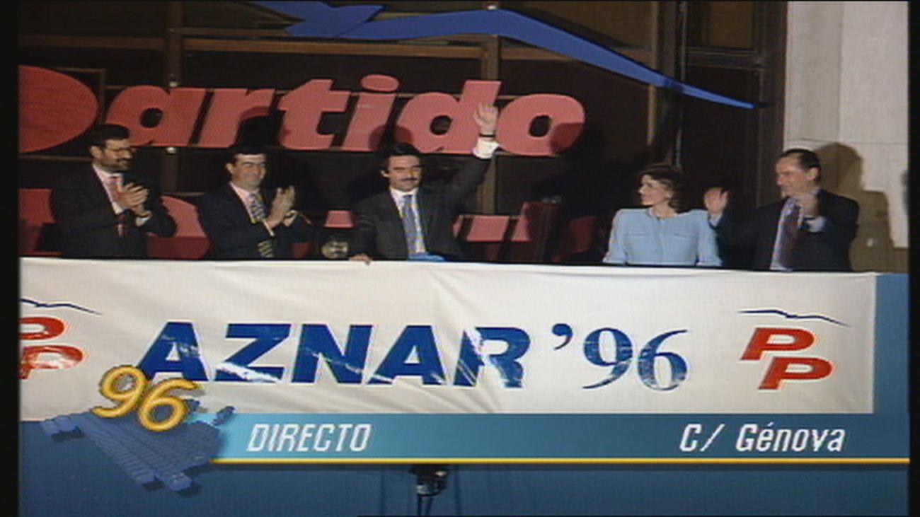 Sin homenajes ni recordatorios ni celebración en Génova de los 25 años de la victoria del PP