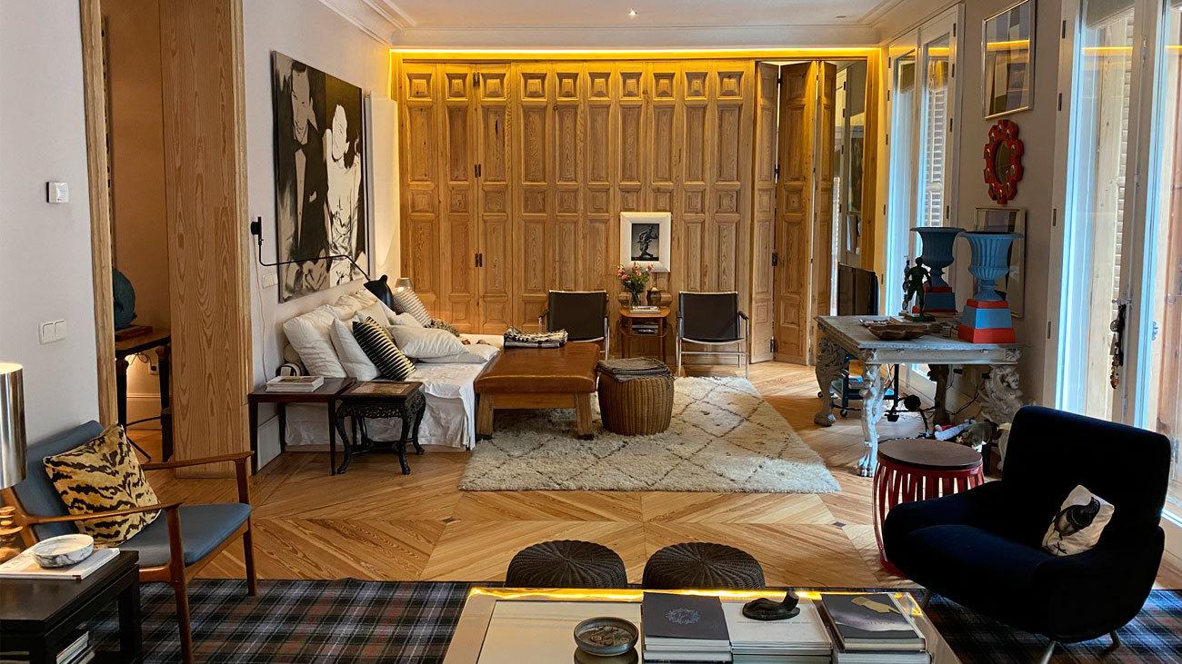 La vivienda centenaria de un diseñador 'con solera'