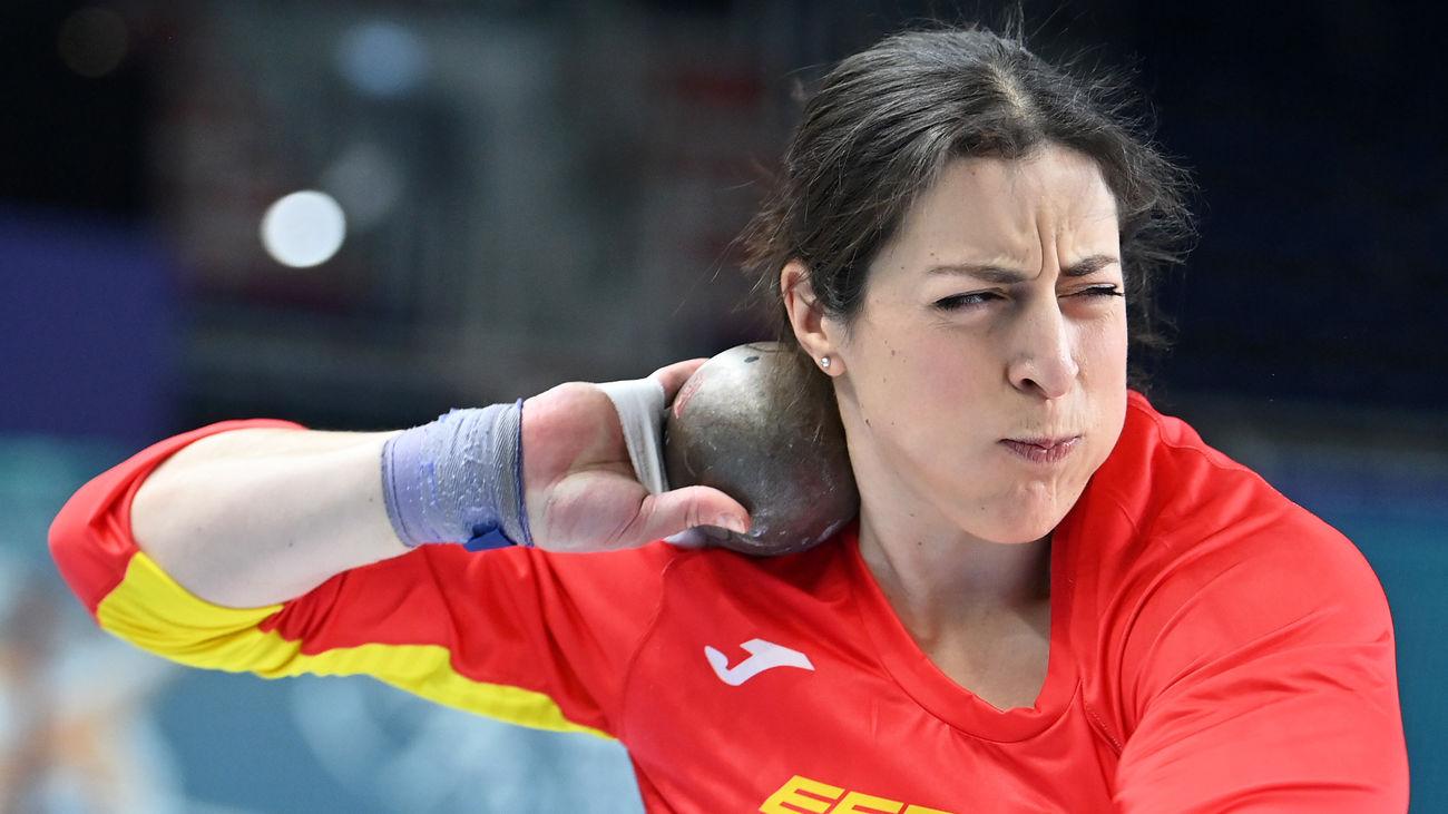 Belén Toimil, récord de España de peso con 18,64 y se mete en la final del Europeo