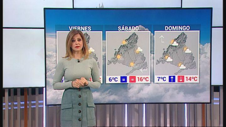 Nubosidad, sol y algún chaparrón este fin de semana en Madrid