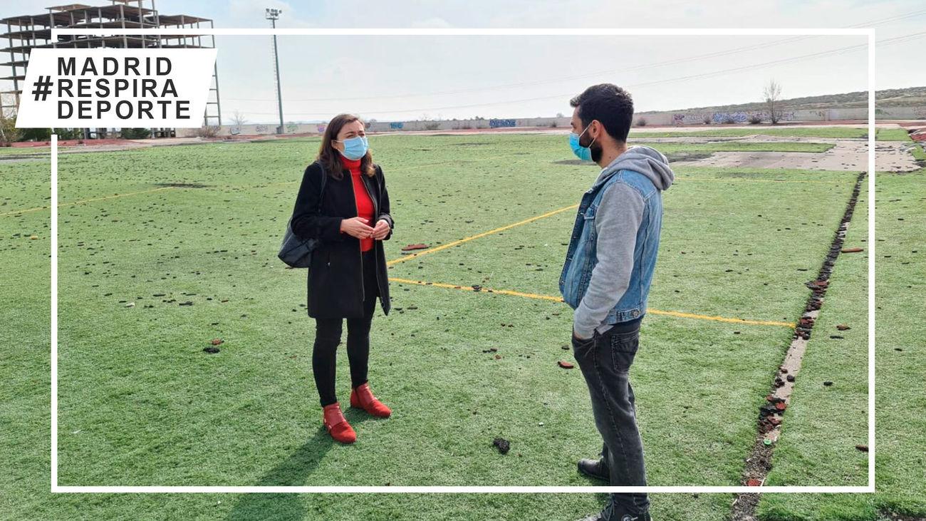 Ciempozuelos construirá un campo de fútbol con material reciclado