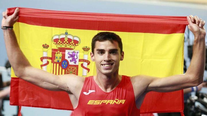 Jesús Gómez, medalla de bronce en 1.500