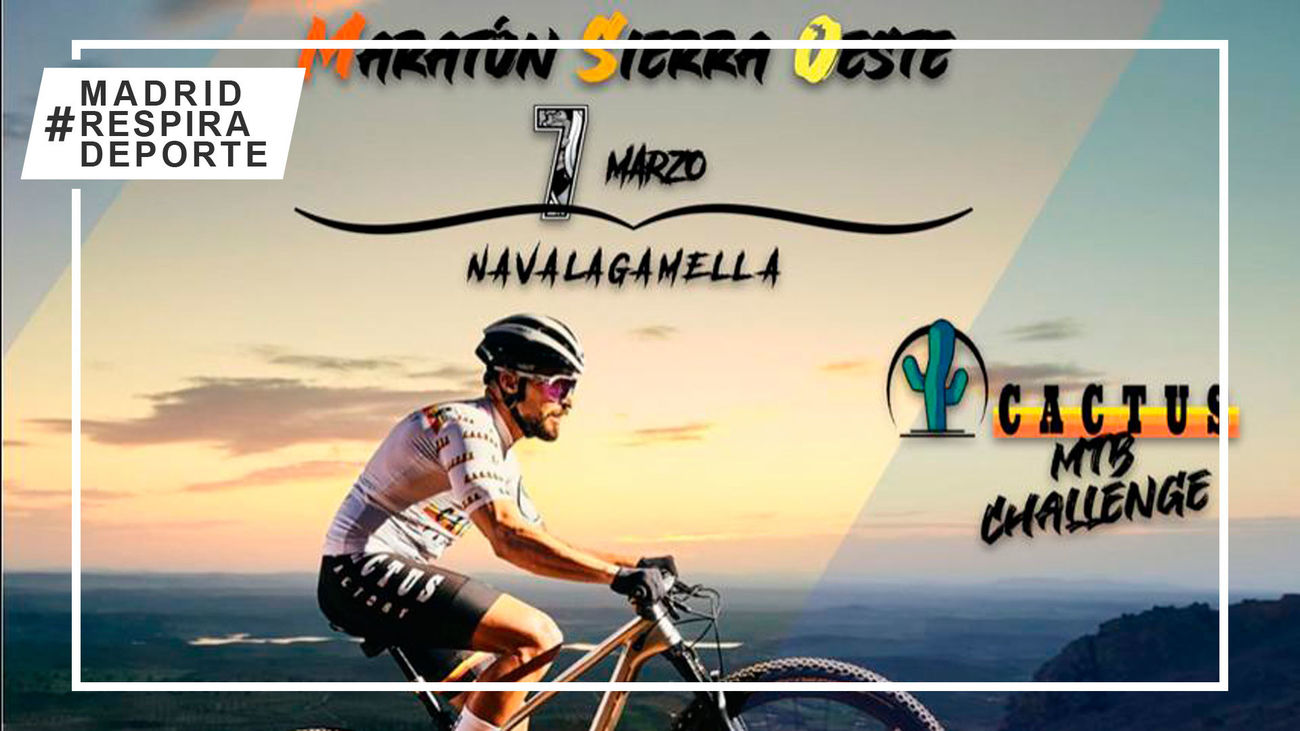 Maratón Sierra Oeste MTB de Navalagamella
