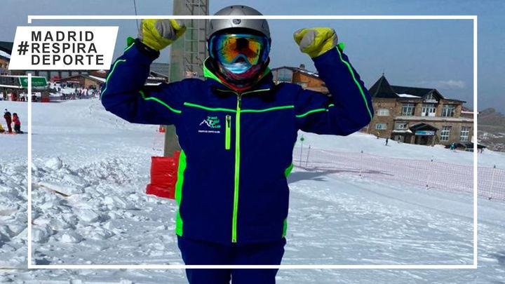 La madrileña Sara Zalve, campeona de España de esquí alpino