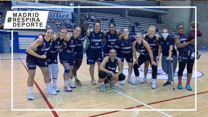 Baloncesto Leganés, intratable, 20 de 20
