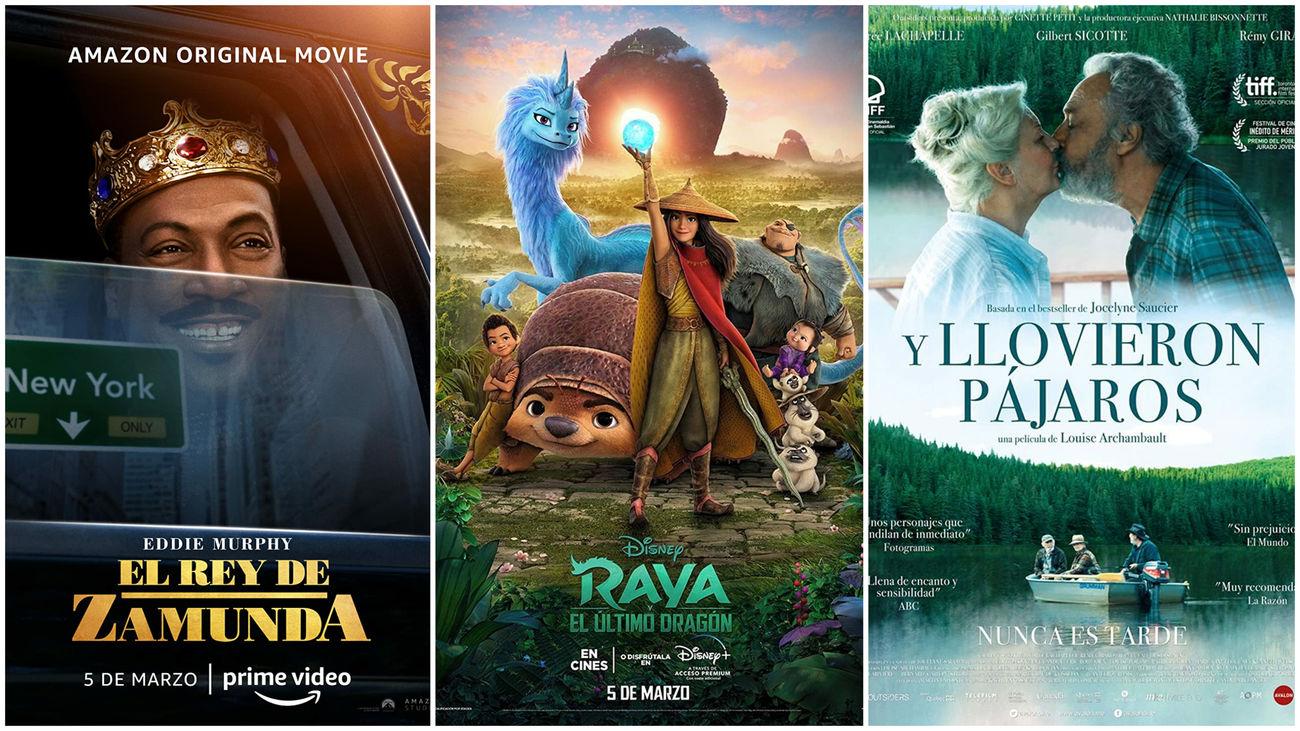 Critica de trailers.Estrenos de cine... contados de otra manera:  de reyes, dragones y paisajes