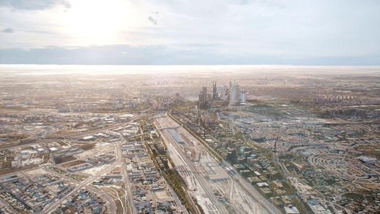 Zona en la que se levantará 'Madrid Nuevo Norte'