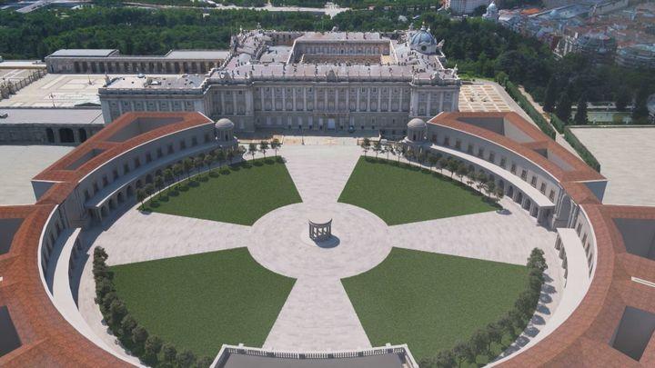 El monumental proyecto de la Plaza de Oriente