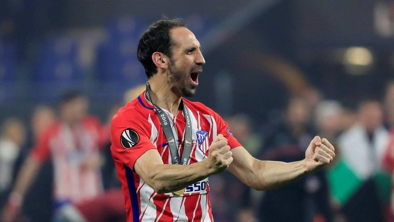"""Juanfran: """"Veo campeón de Liga al Atlético"""""""