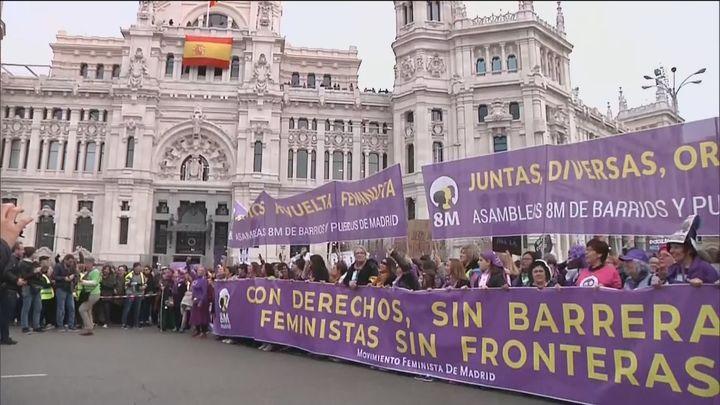 """Asociaciones del 8M ven """"un ataque sin precedentes"""" al Día de la Mujer"""