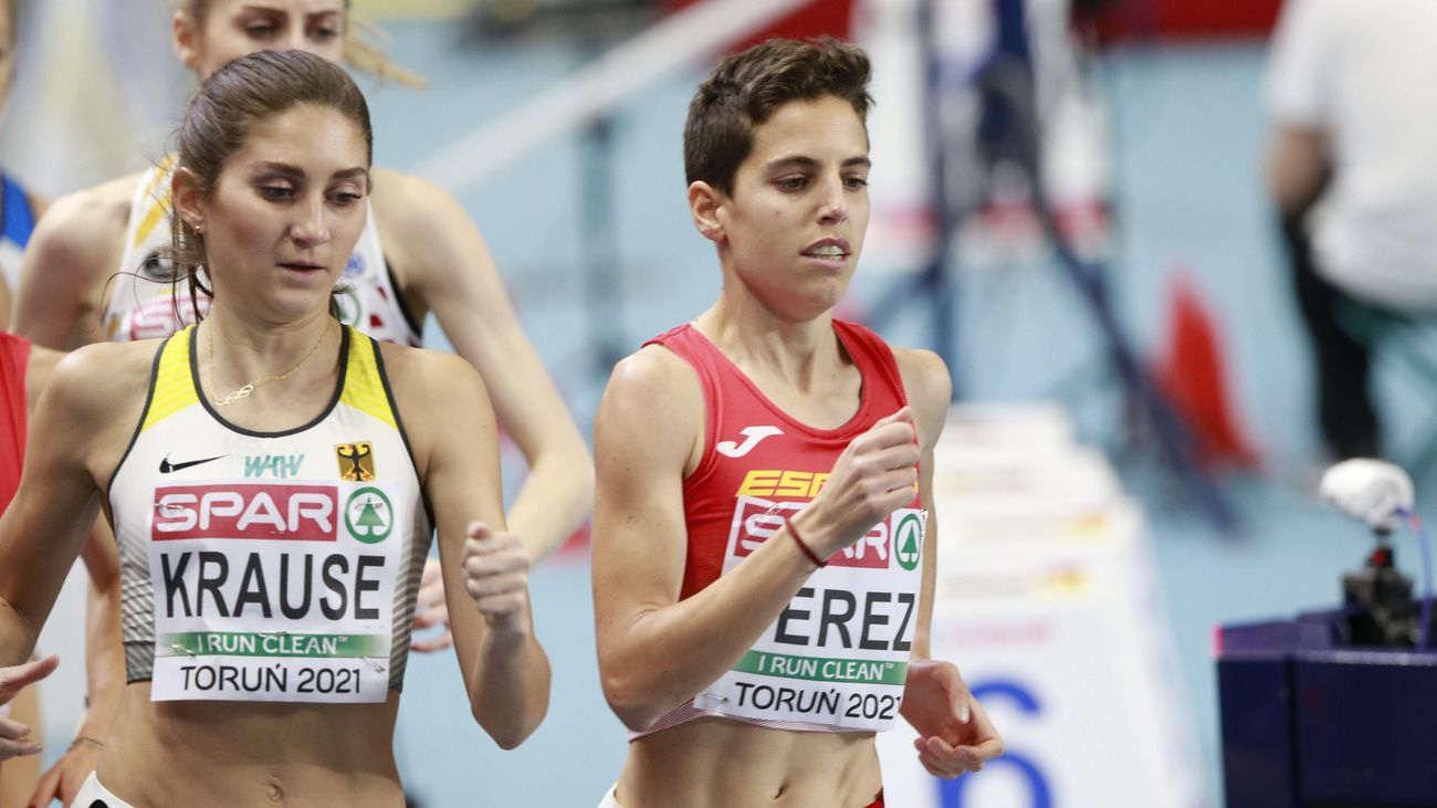 Marta Pérez, cuarta, y Esther Guerrero, quinta en 1.500