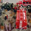 El centro comercial Plaza Loranca 2 acoge una exposición de Playmobil en homenaje a la UME