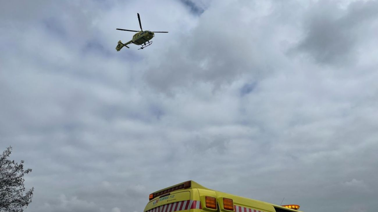 Dos motoristas heridos tras colisionar en la M-611 a la altura de Rascafría