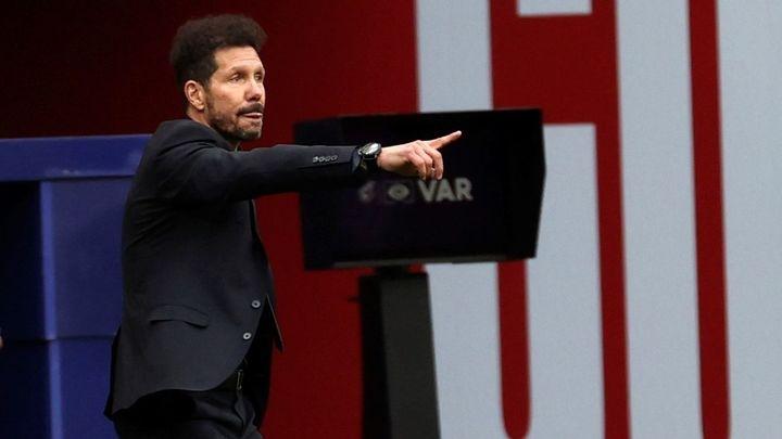 """Simeone: """"Pensaban que íbamos a ganar por 20 puntos, no sé lo que imaginaban"""""""