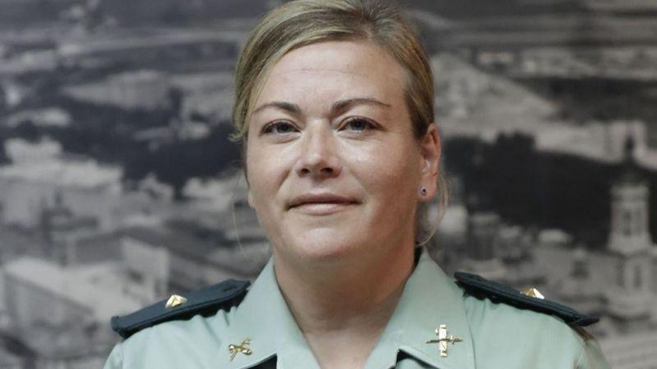 """Beatriz Berné: """"Ahora mismo la Guardia Civil anda en un 7% de mujeres en la escala de cabos y guardias y oficiales todavía no llegamos ni al 3%"""""""