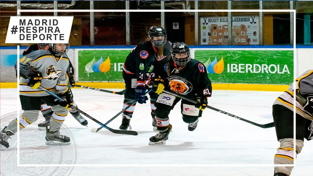 Majadahonda disputará la final de la liga de hockey hielo tras derrotar al Quimeras Valdemoro
