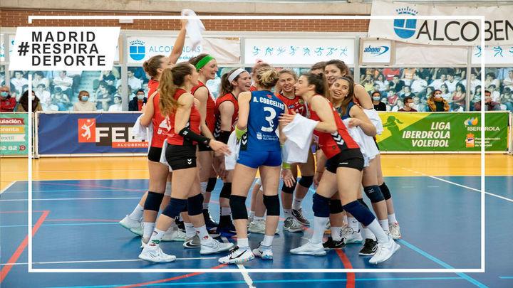 Voleibol Alcobendas, campeón de la liga regular y directo a semifinales