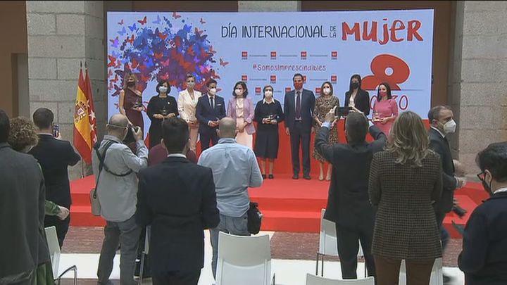 Reconocimiento de Madrid a las mujeres en este 8M