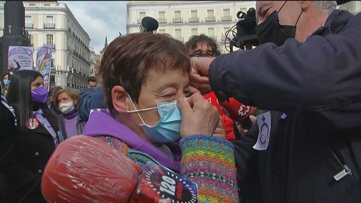 Incidentes en Sol durante la concentración no autorizada del Sindicato de Estudiantes