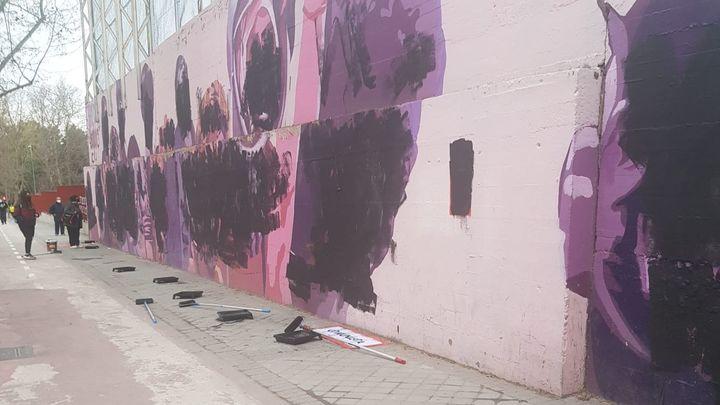 Ciudad Lineal, Alcalá, Colmenarejo... el 8M sufre varios ataques en Madrid
