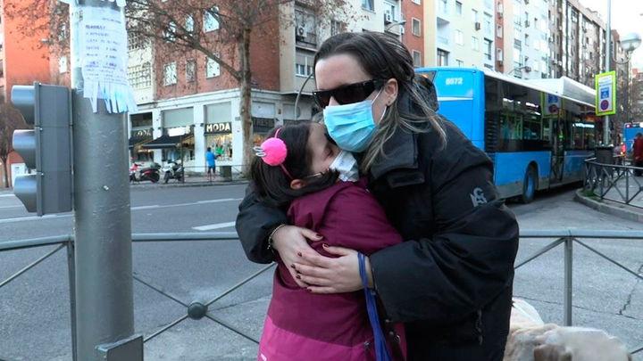 Noelia, una mamá ciega realmente extraordinaria