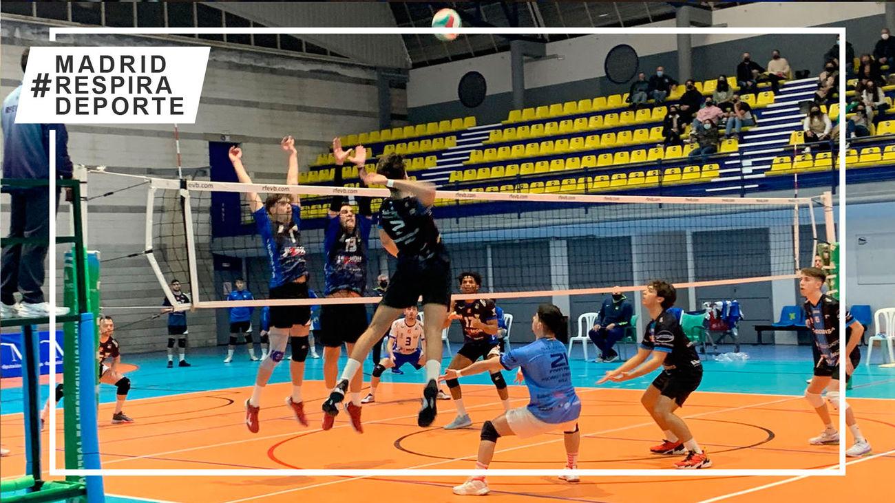 Voleibol Leganés 'pincha' en Málaga y se jugará todas sus opciones en una doble jornada