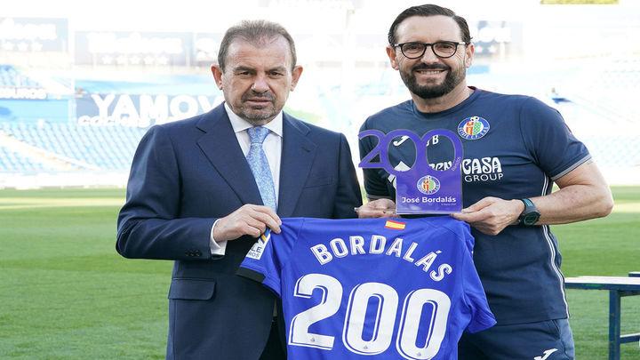 Ángel Torres homenajea a Bordalás