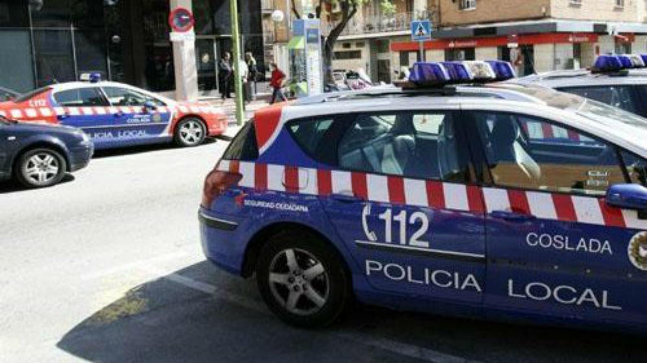 Vehículos de la Policía Local de Coslada