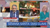 """Revilla, ante la Semana Santa: """"Si todos decidimos cerrar, Madrid también debería hacerlo por solidaridad"""""""