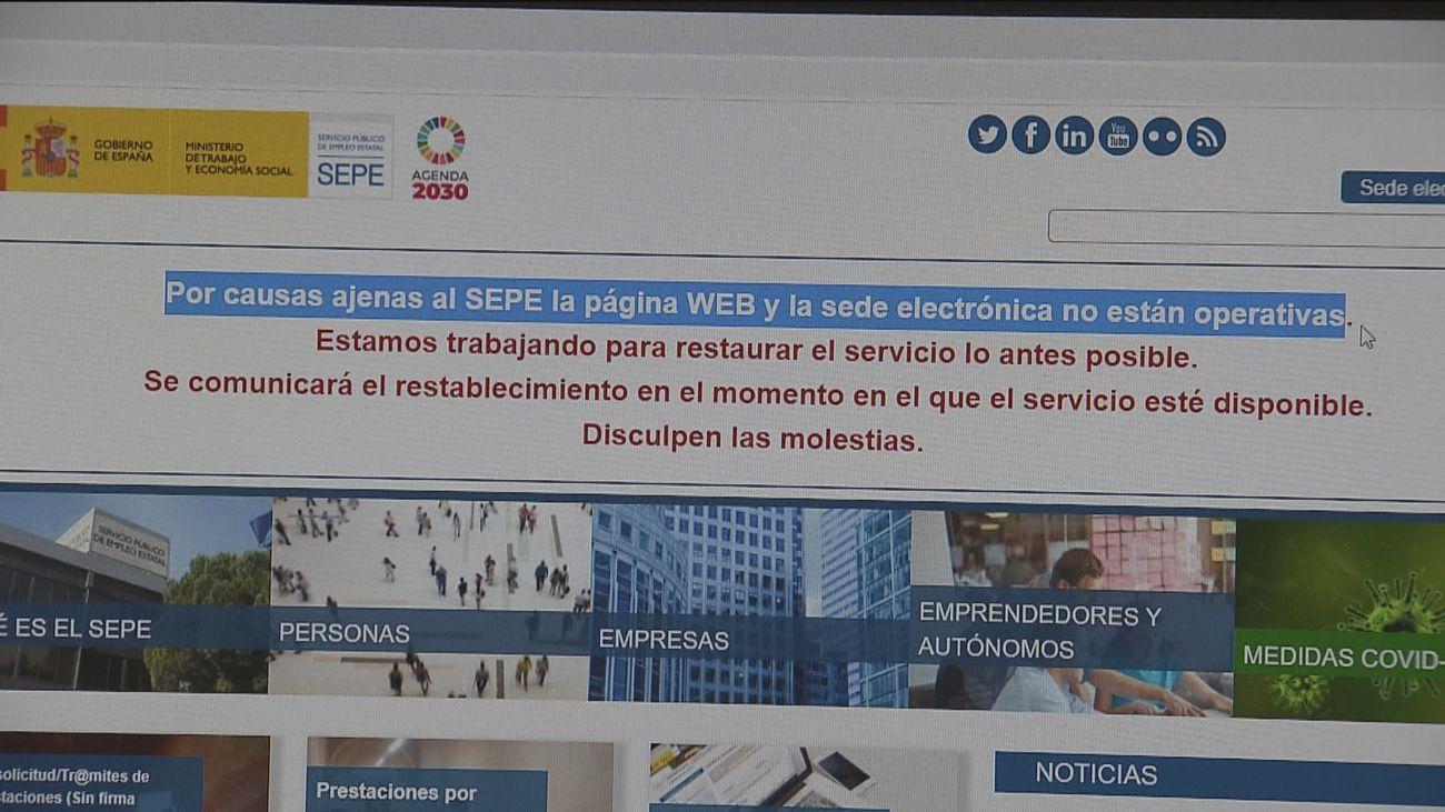 El CNI investiga el ataque informático al SEPE