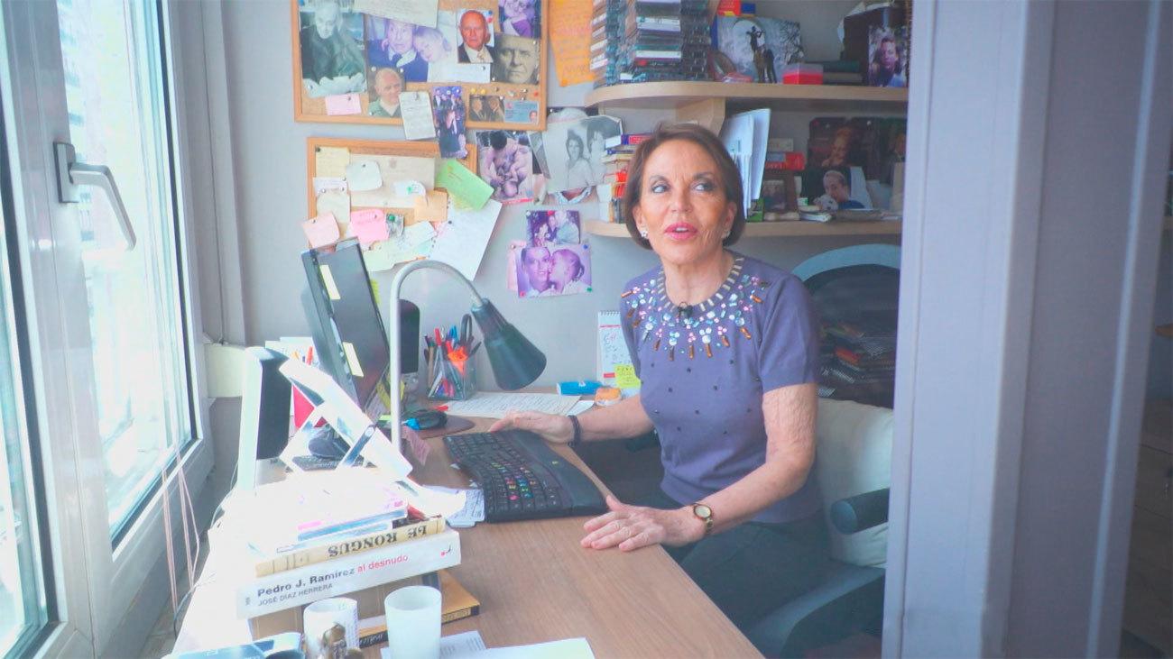 """María Eugenia Yagüe: """"El periodista también debe cuidar el personaje, pero sin pasarse"""""""