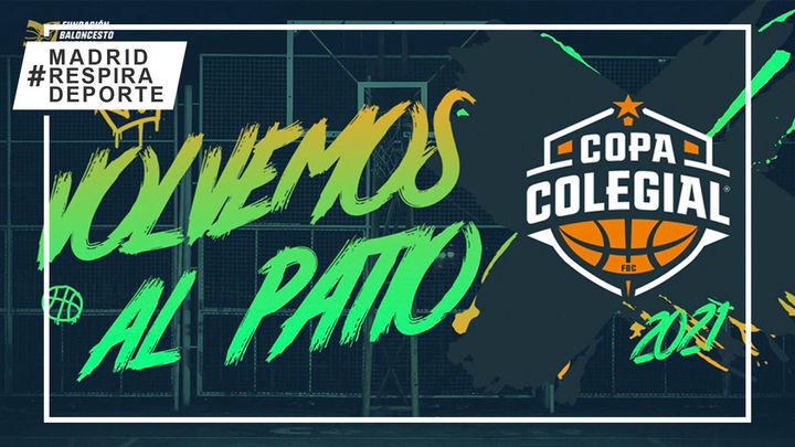 Vuelve a Madridla Copa Colegial de baloncesto