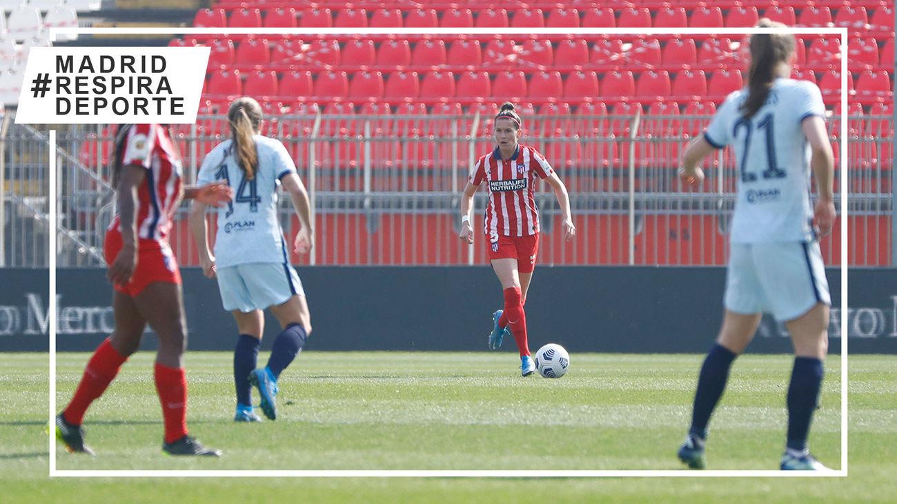 1-1. El Atlético de Madrid femenino se despide de la Champions