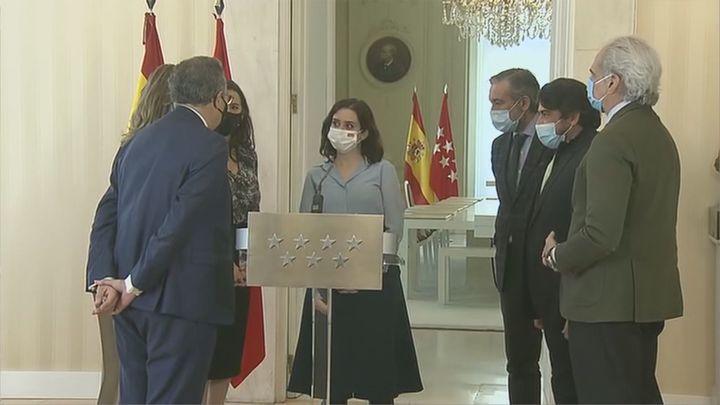 """Ayuso anuncia elecciones: """"Si no tomo esta decisión, podría haber una moción que sería un desastre para Madrid"""""""