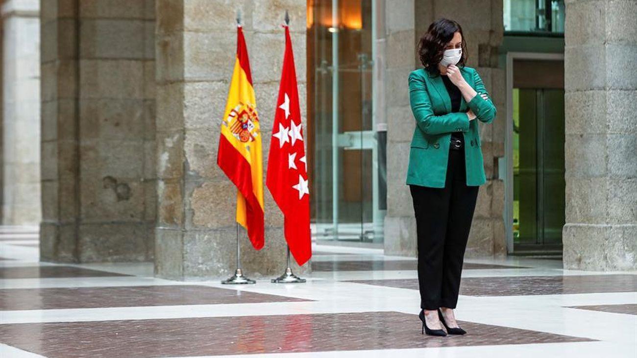 """Ayuso convoca elecciones en Madrid """"para frenar una moción de censura"""""""