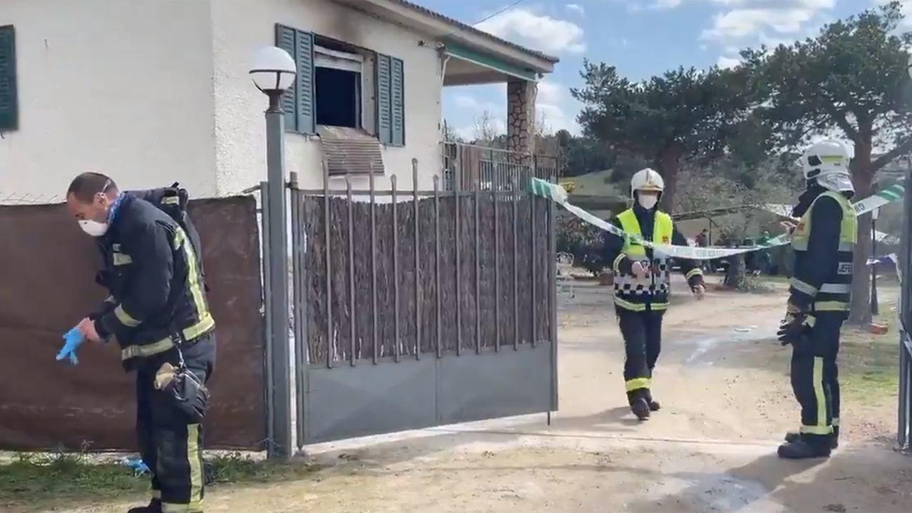 Confirmado el asesinato machista de una mujer y su hija en El Molar