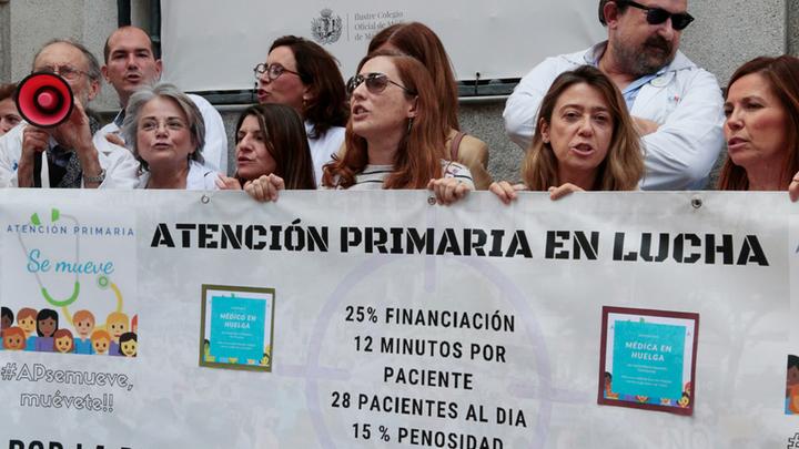 """Suspenden la huelga de médicos ante la """"falta de interlocutores"""" por el adelanto electoral"""