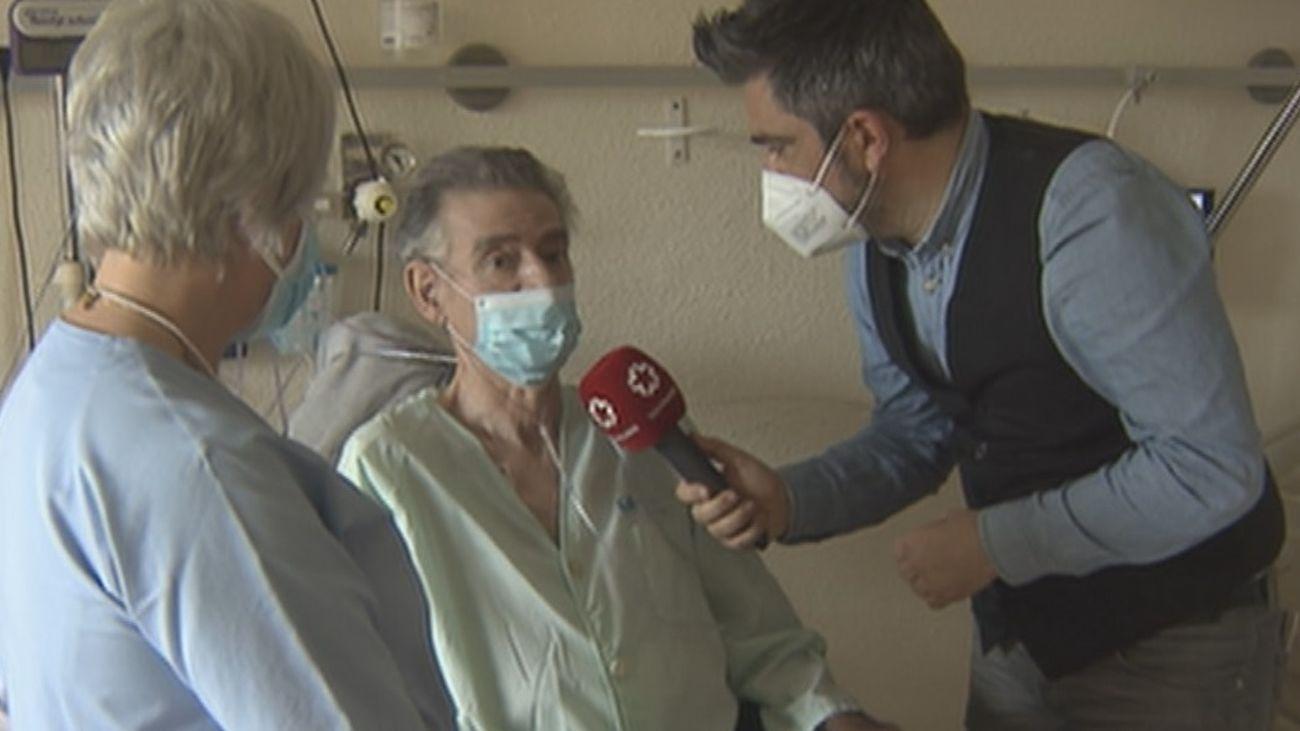 Enfermos de Covid se recuperan de las secuelas en el Hospital de la Fuenfría