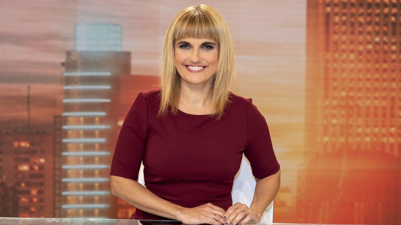 El 'Telenoticias 1' de Lourdes Maldonado escala hasta el 19,1% de share y lidera con la crisis institucional de Madrid