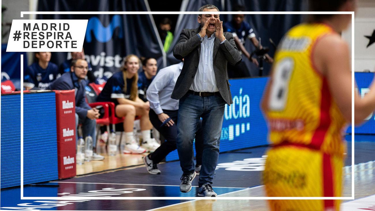 Alberto Ortego renueva dos temporadas con el Estudiantes femenino